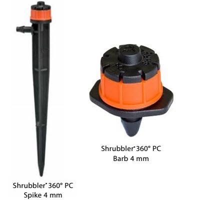 Đầu tưới cây 8 cánh shrubbler-360- Pressure -Compensating-2