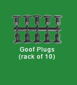 Goof plugs
