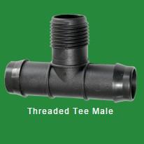 Threaded Tee Male