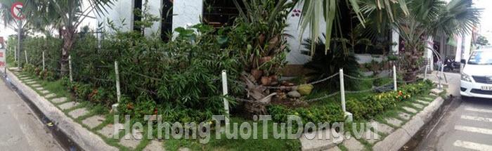 Khảo sát tưới cây cong ty An Nông